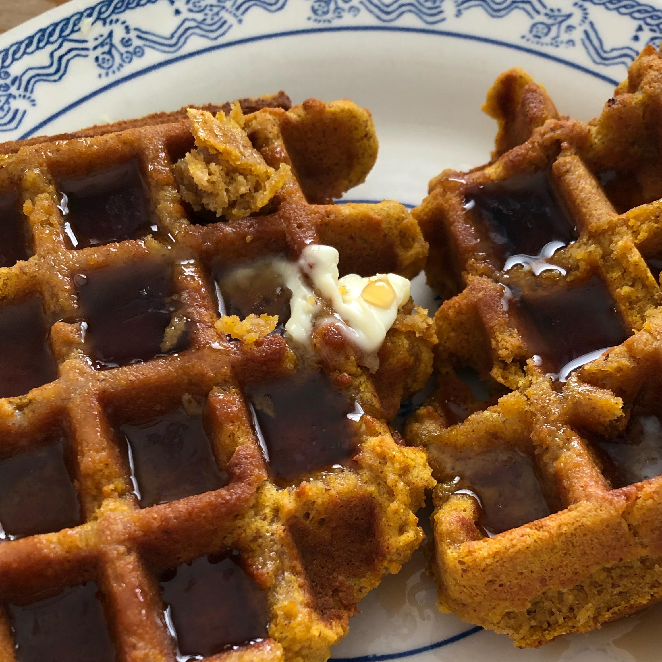 Perfect Gluten-Free Pumpkin Waffles Karen Sperry-Koons