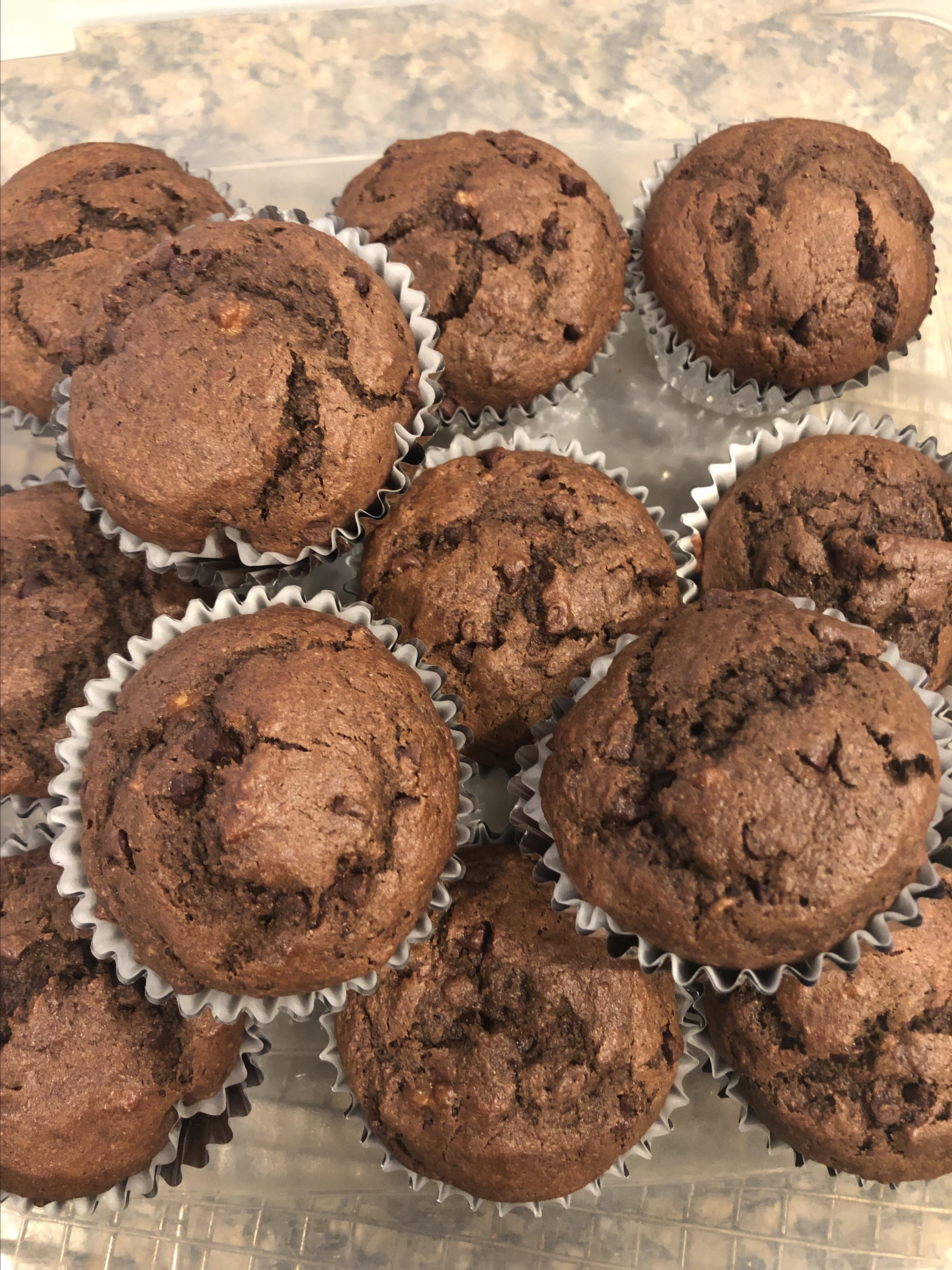 Chocolate Banana Muffins Grandma'sGirl