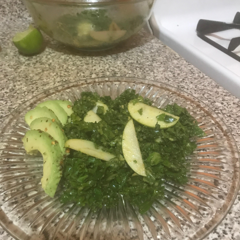 Simple Kale Salad Sherae Oliver