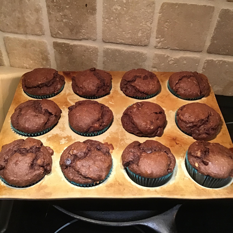 Chocolate Banana Muffins mollycameron@bell.net