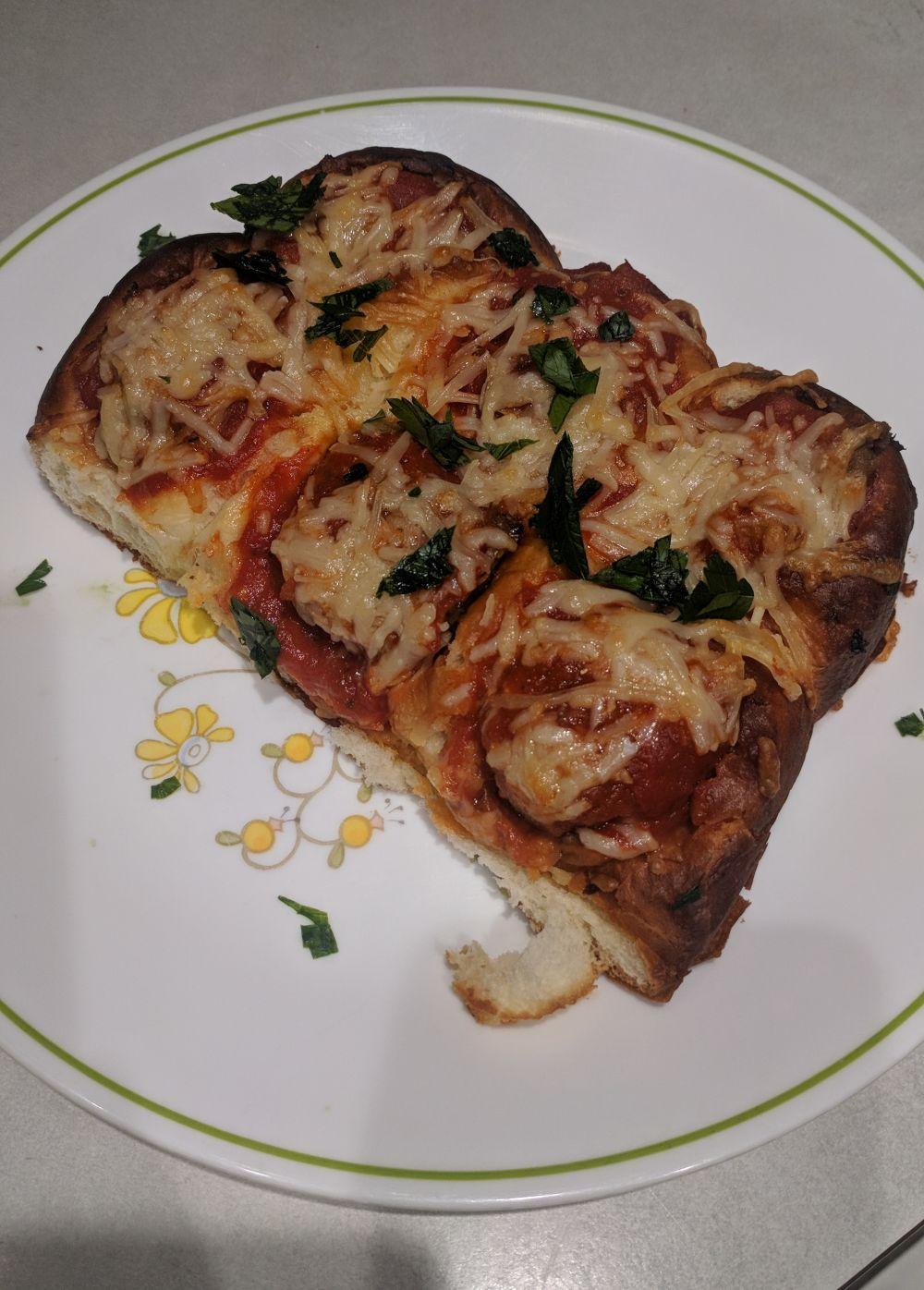 Meatball-Stuffed Garlic Bread Sliders Electra