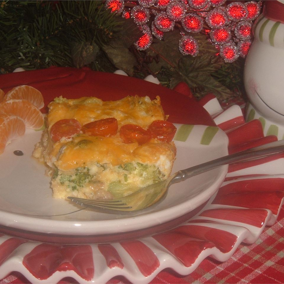 Broccoli and Cheese Brunch Casserole Shelley