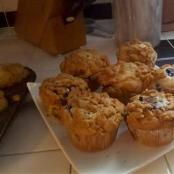 Blueberry Crumb Muffins Terry Shortway