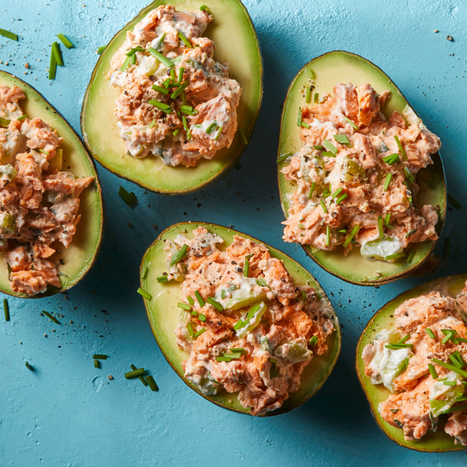 Salmon-Stuffed Avocados Allrecipes Trusted Brands