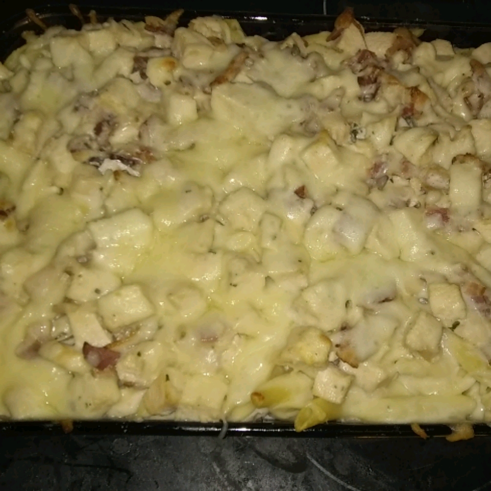 Chicken Bacon Ranch Casserole