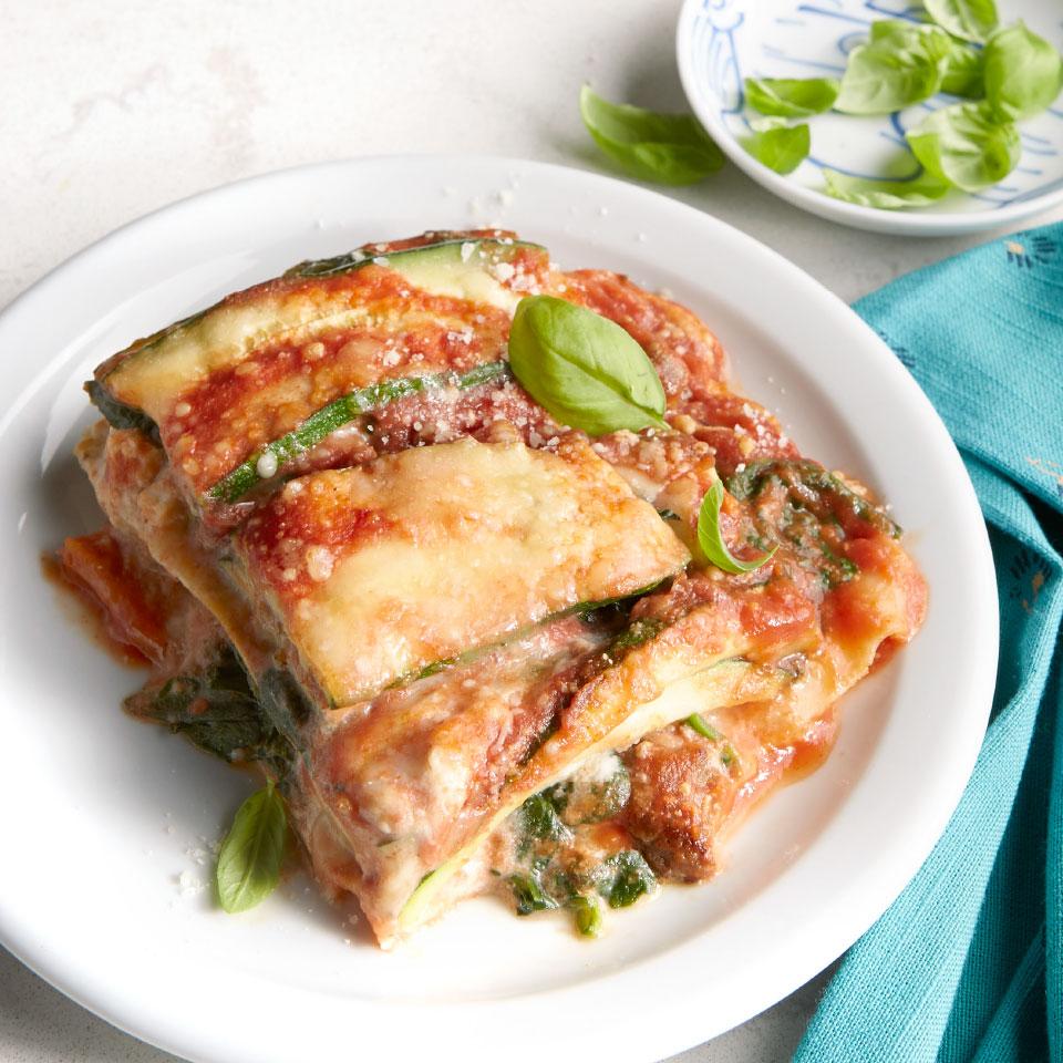 Turkey Sausage & Zucchini Lasagna Joyce Hendley
