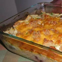 Tuna Noodle Casserole from Scratch Lucky Noodles