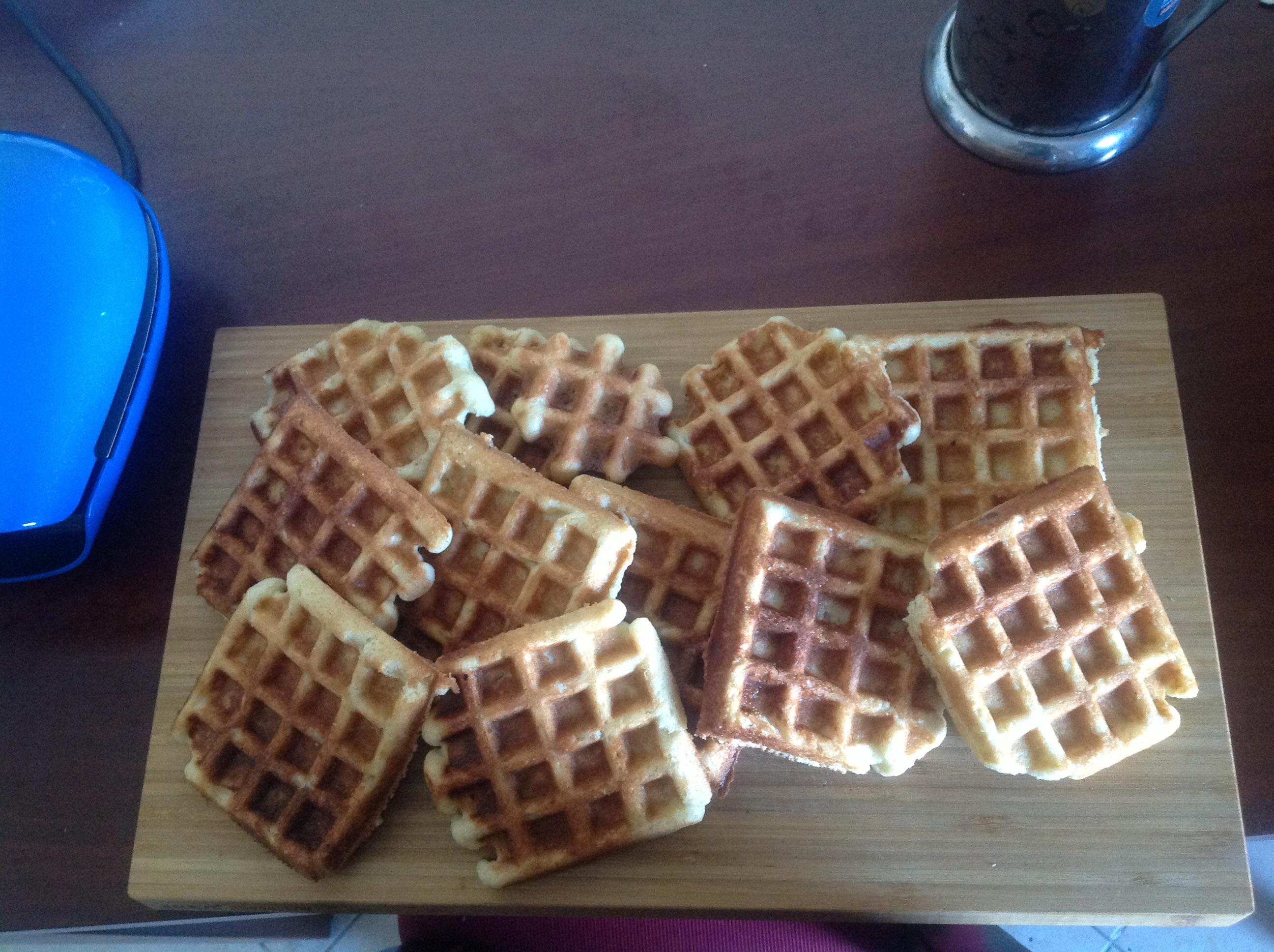 Liege Belgian Waffles with Pearl Sugar fugue27