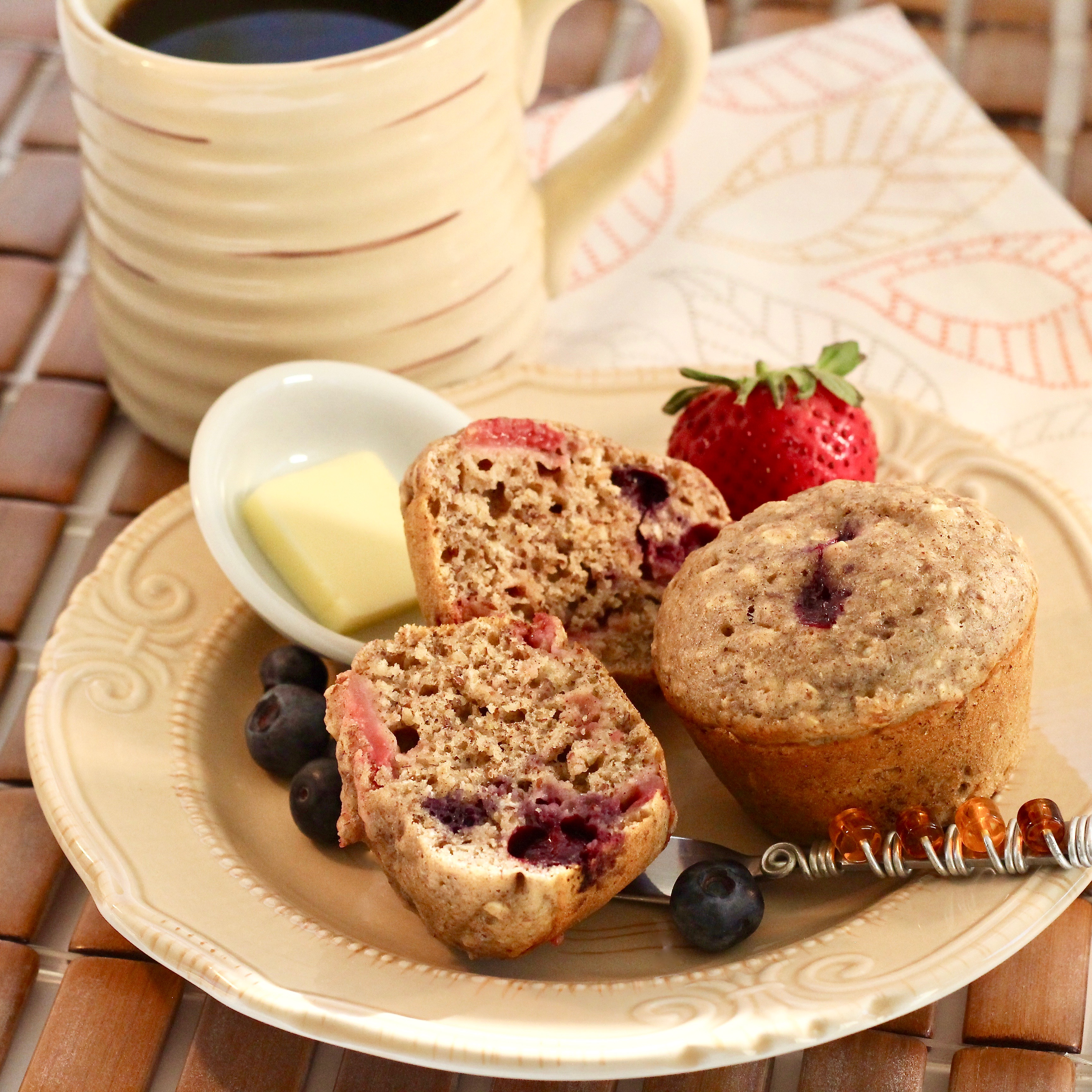 Bumbleberry Muffins