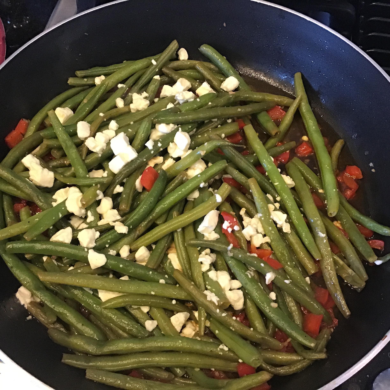 Arica's Green Beans and Feta