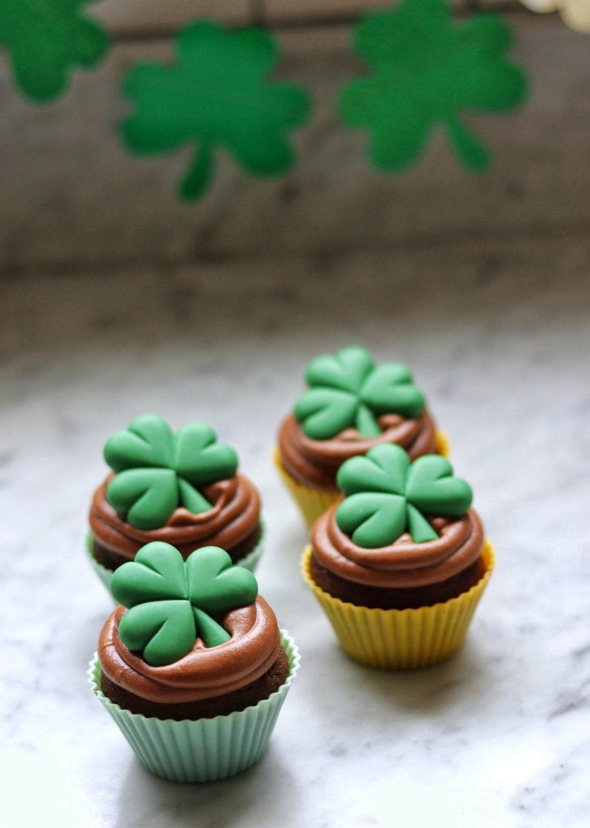 Guinness® Cupcakes with Guinness® Frosting fabeveryday