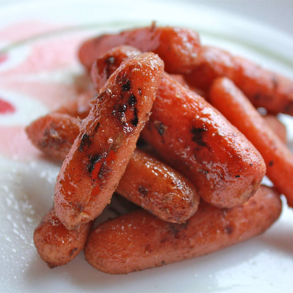 Glazed Carrots Asian Style