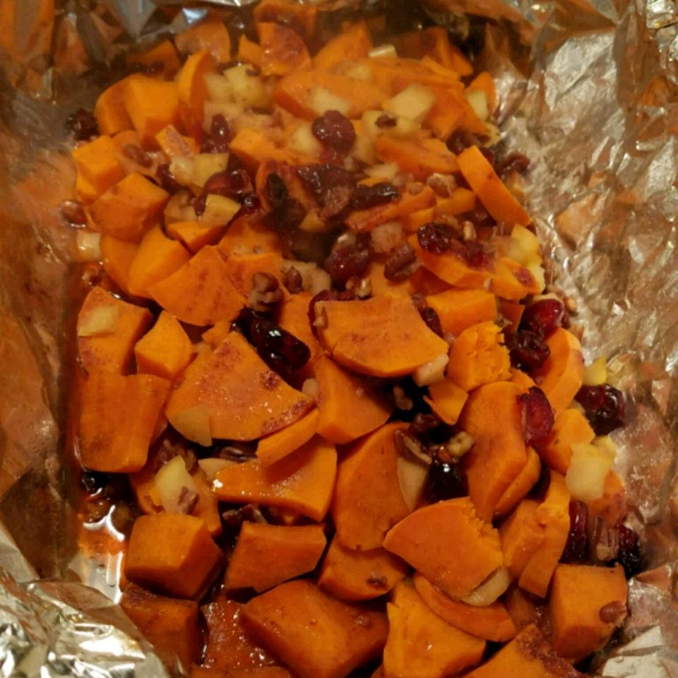 Karen's Cranberry Apple Sweet Potato Packet