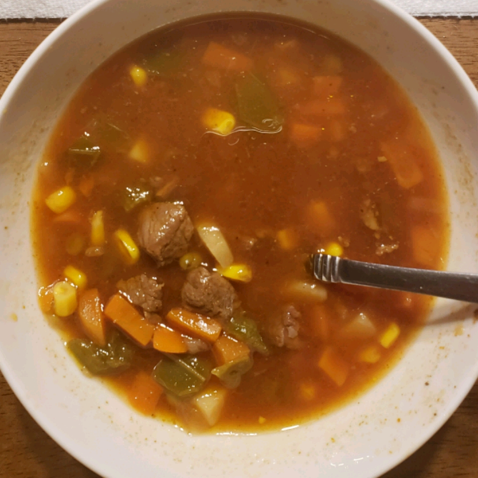 Texas Beef Soup Michael Brown
