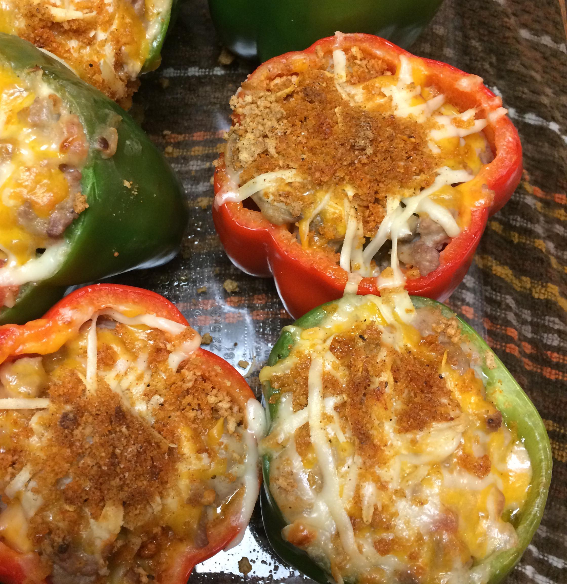 Turkey-Stuffed Peppers