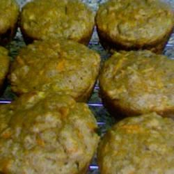 Healthy Whole Wheat Carrot Muffins