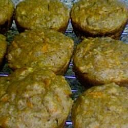healthy whole wheat carrot muffins recipe