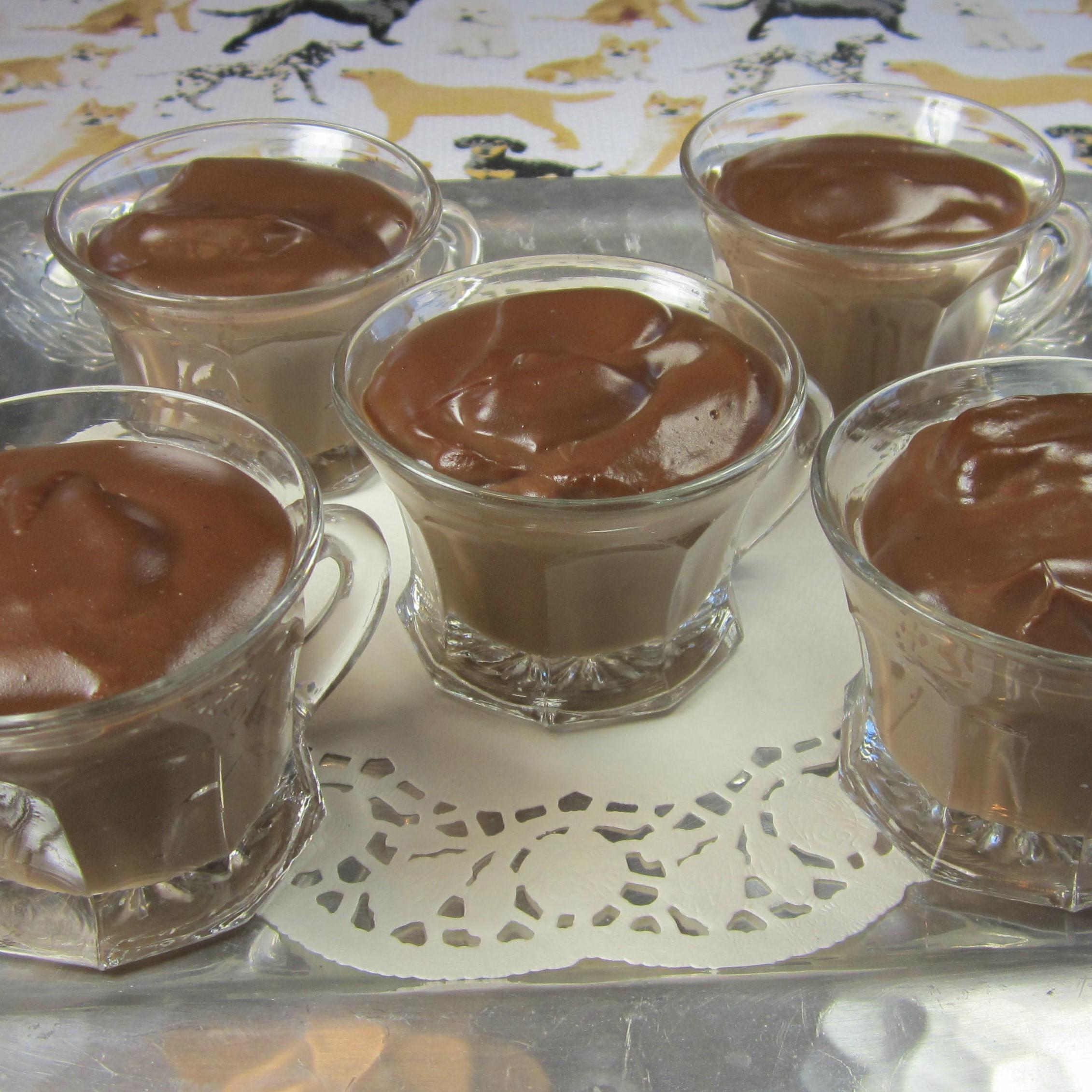 Grandma Oakley's Chocolate Blancmange