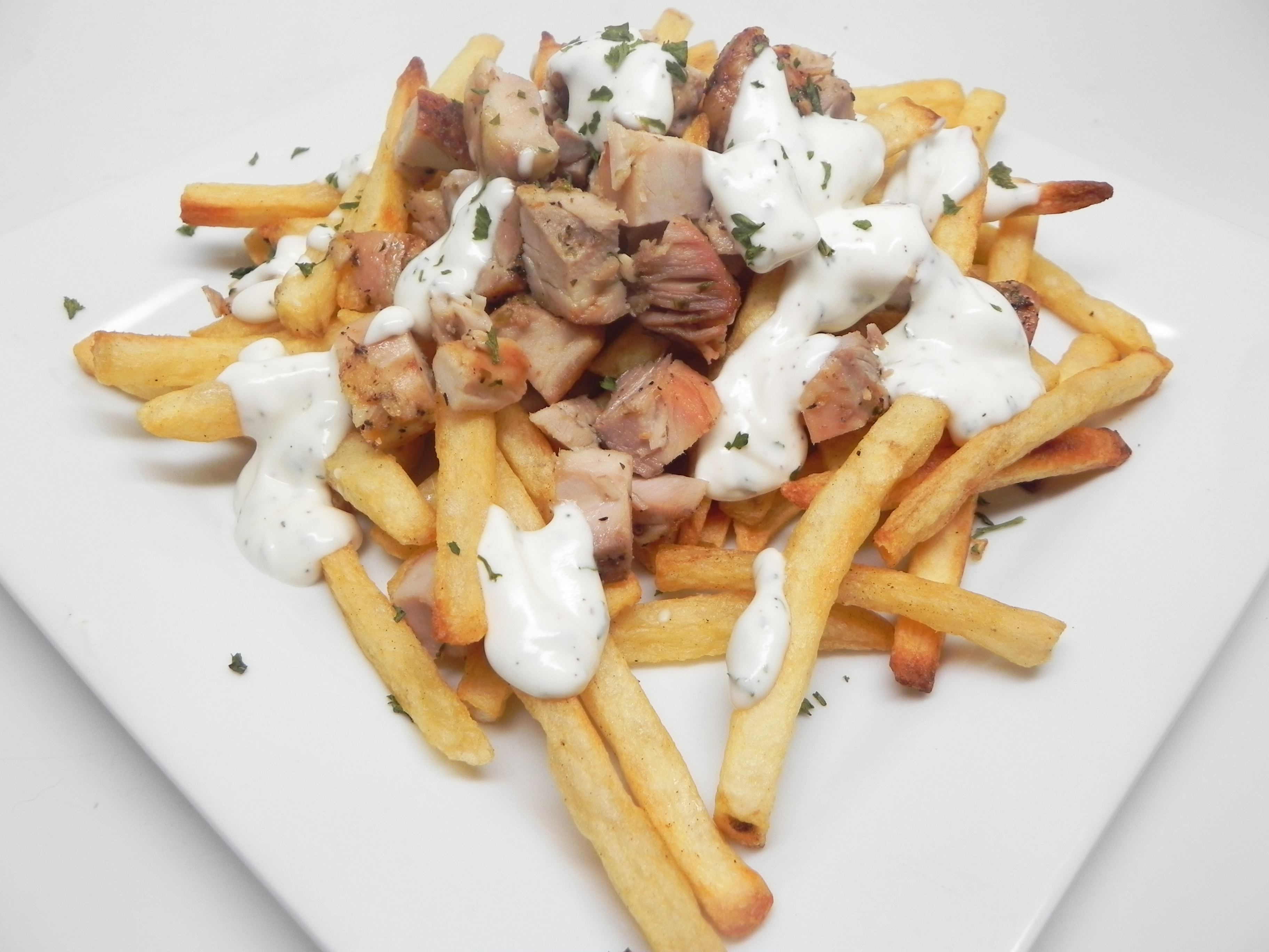 Loaded Halal Cart Fries