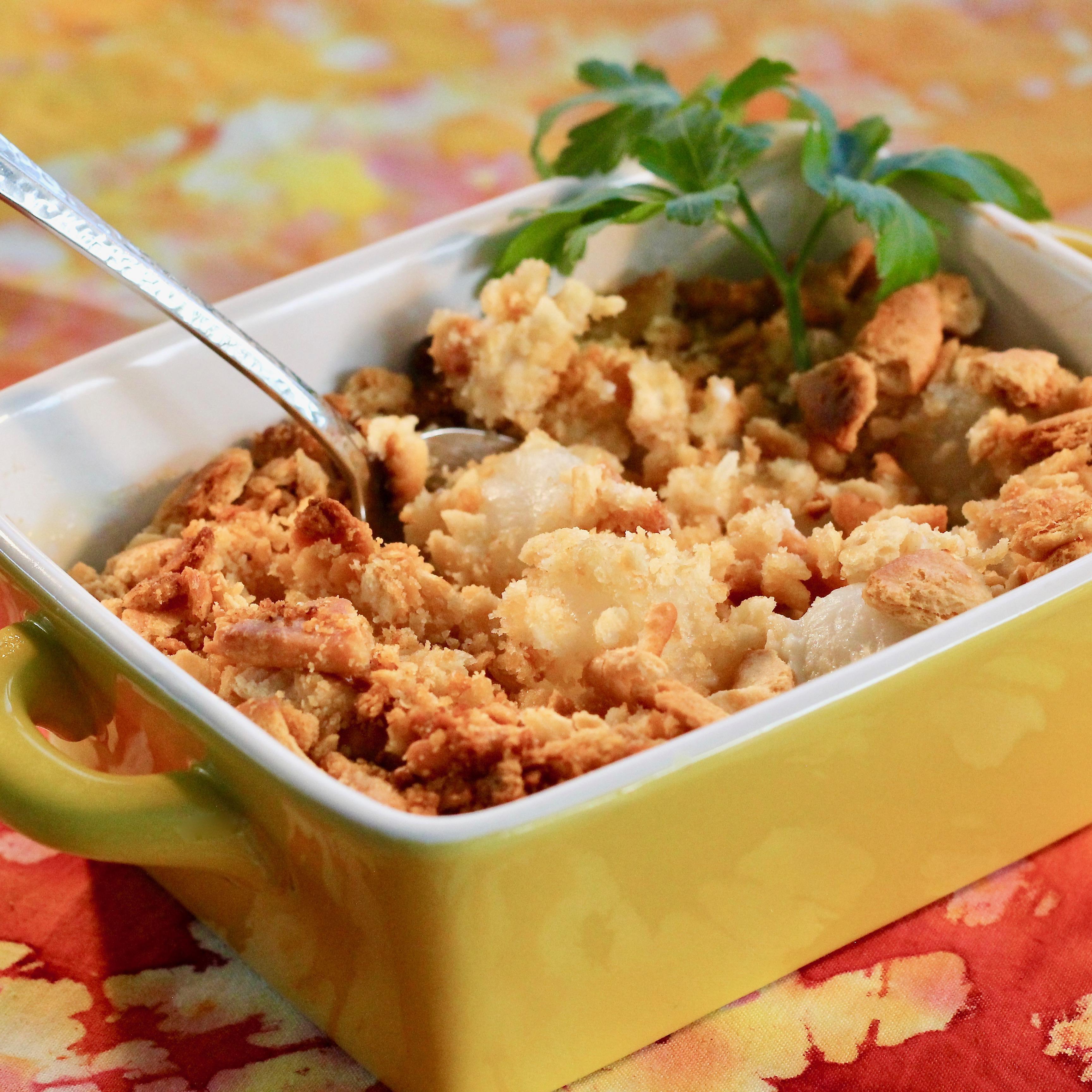 Creamed Onions I Debbie Thomas