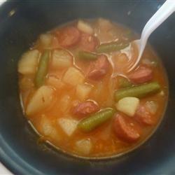 Hot Dog Soup Megan Buchholz