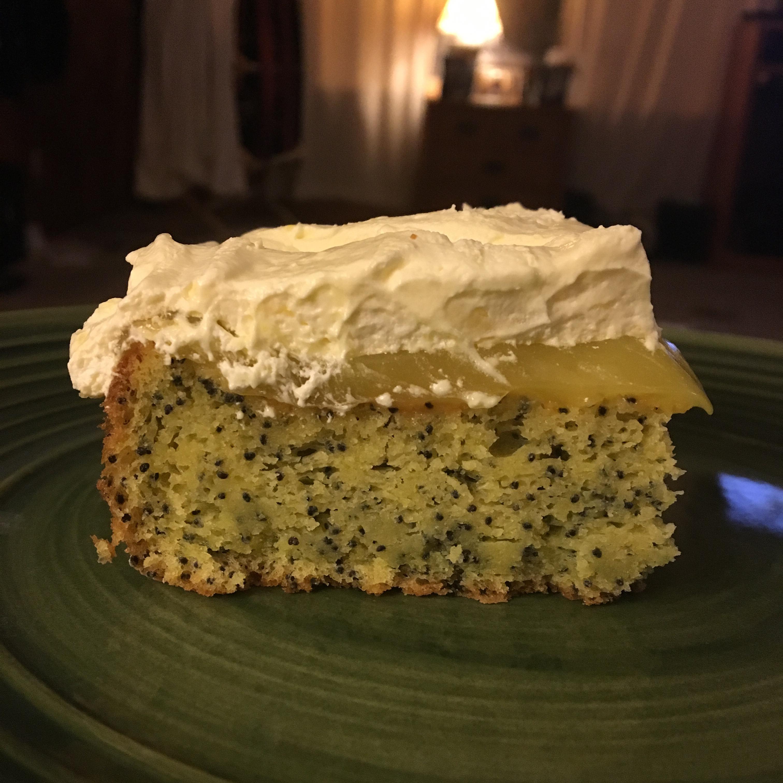 Lemon Poppy Seed Dessert Cake Cathy Buskey