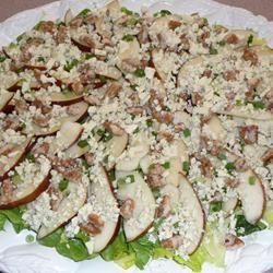 Roquefort Pear Salad kiwismom
