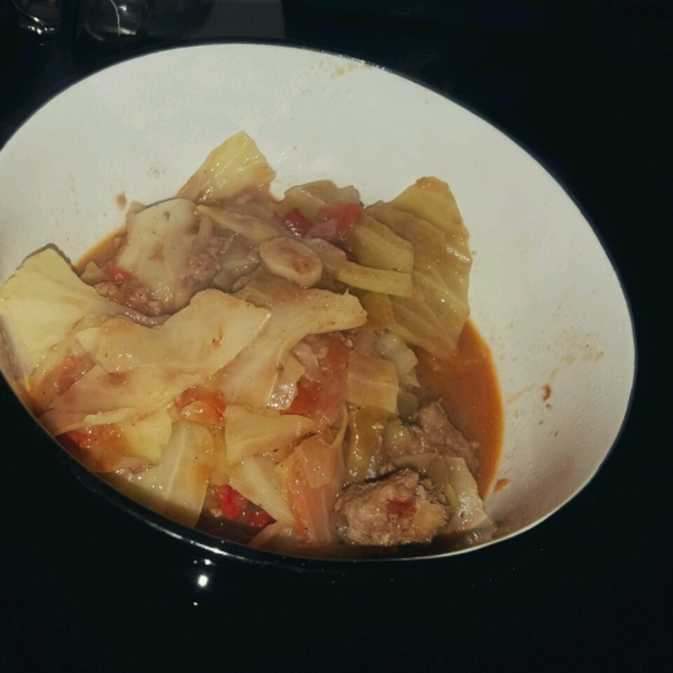 Ms. Angela's Smothered Cabbage yaya_md