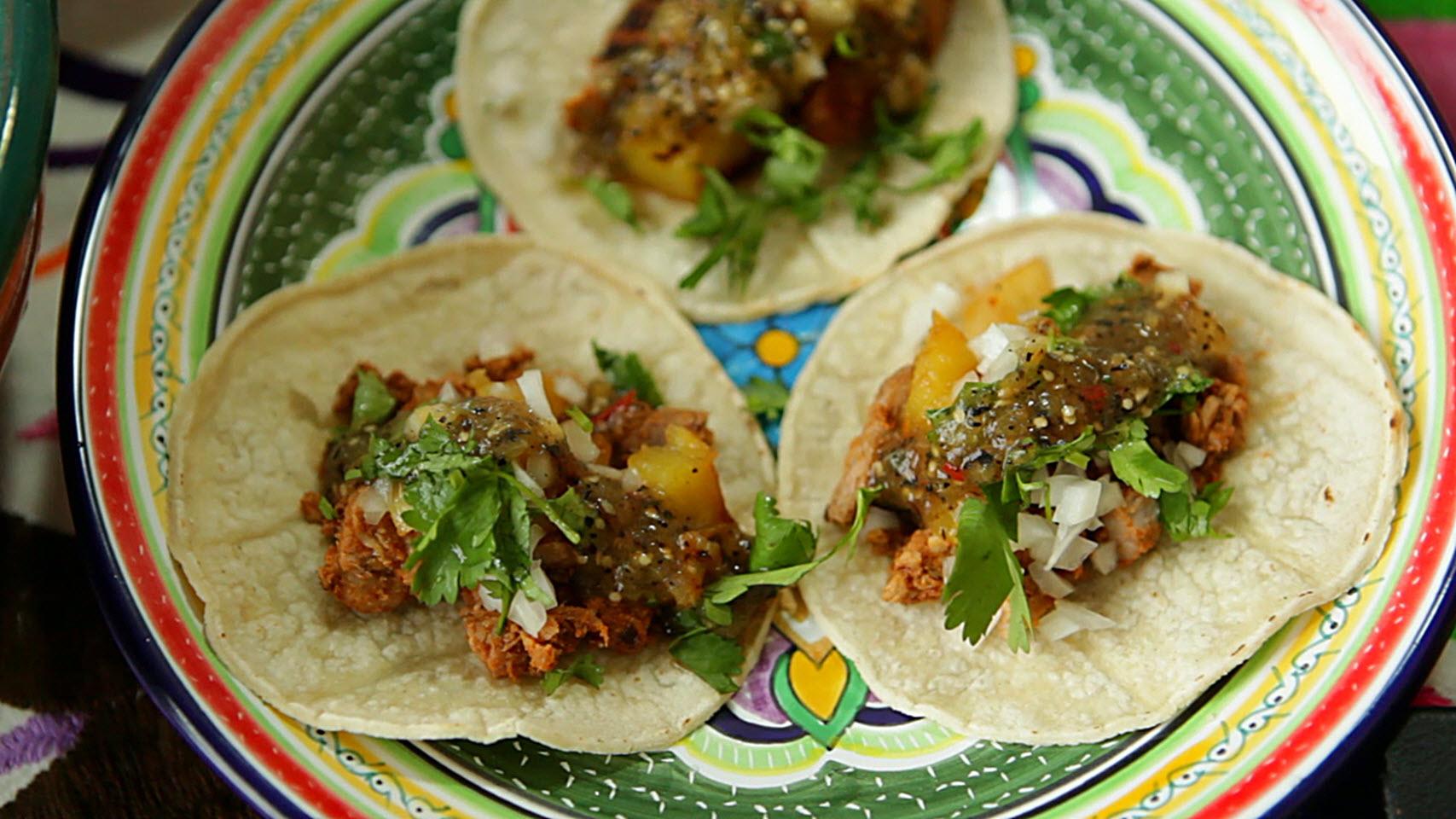 Authentic Tacos al Pastor