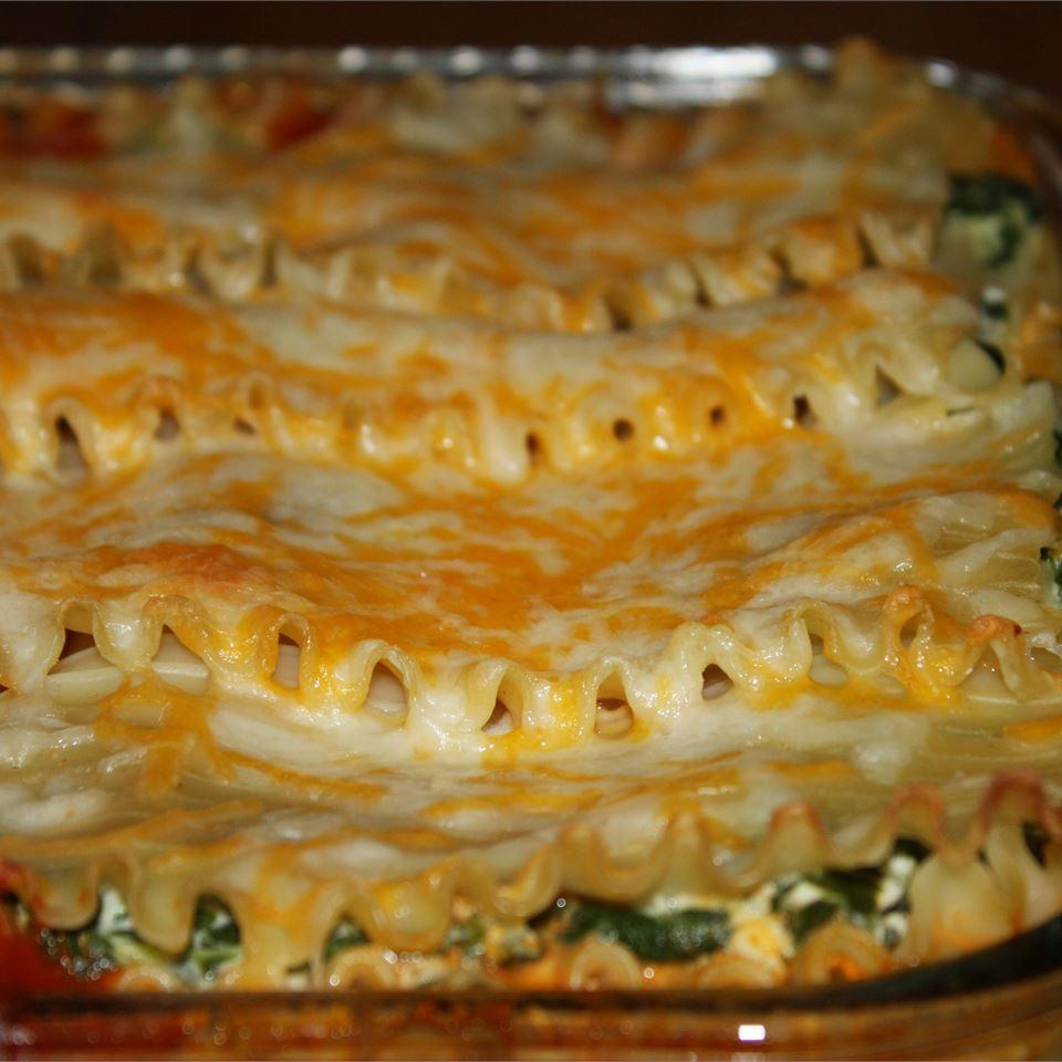 Cheesy Spinach Lasagna Gracie