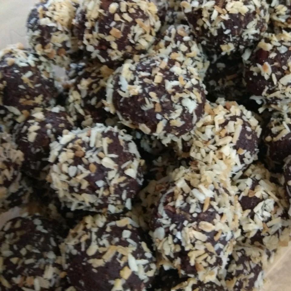 Vegan Truffles - Toasted Coconut