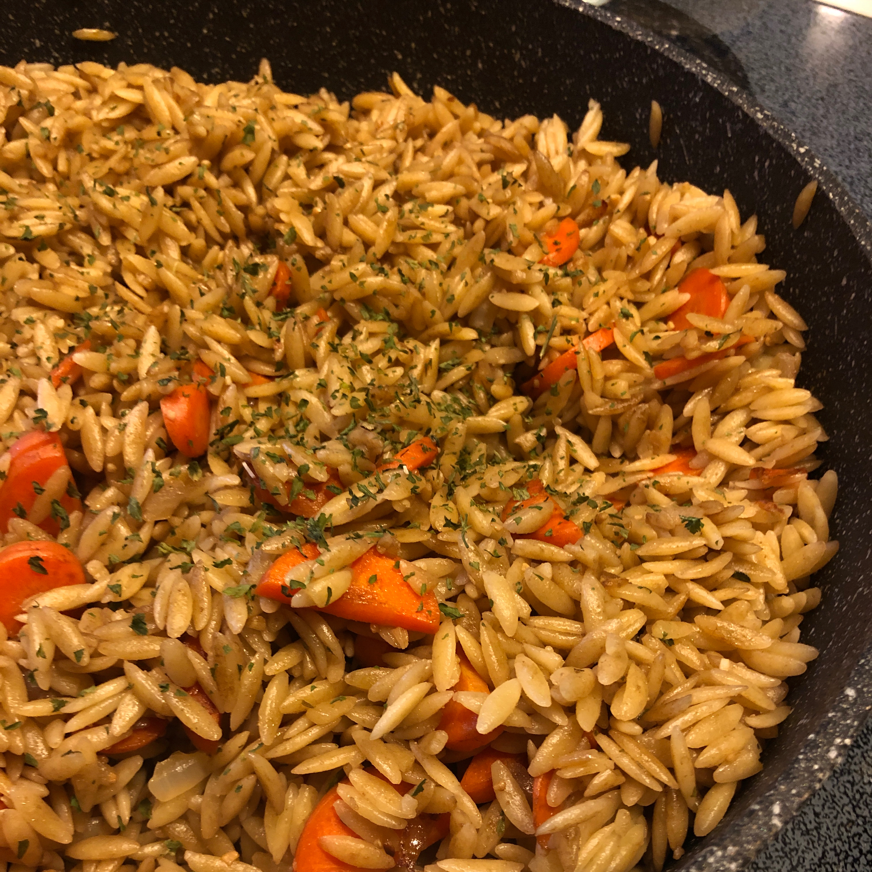 Vegetable Orzo mags