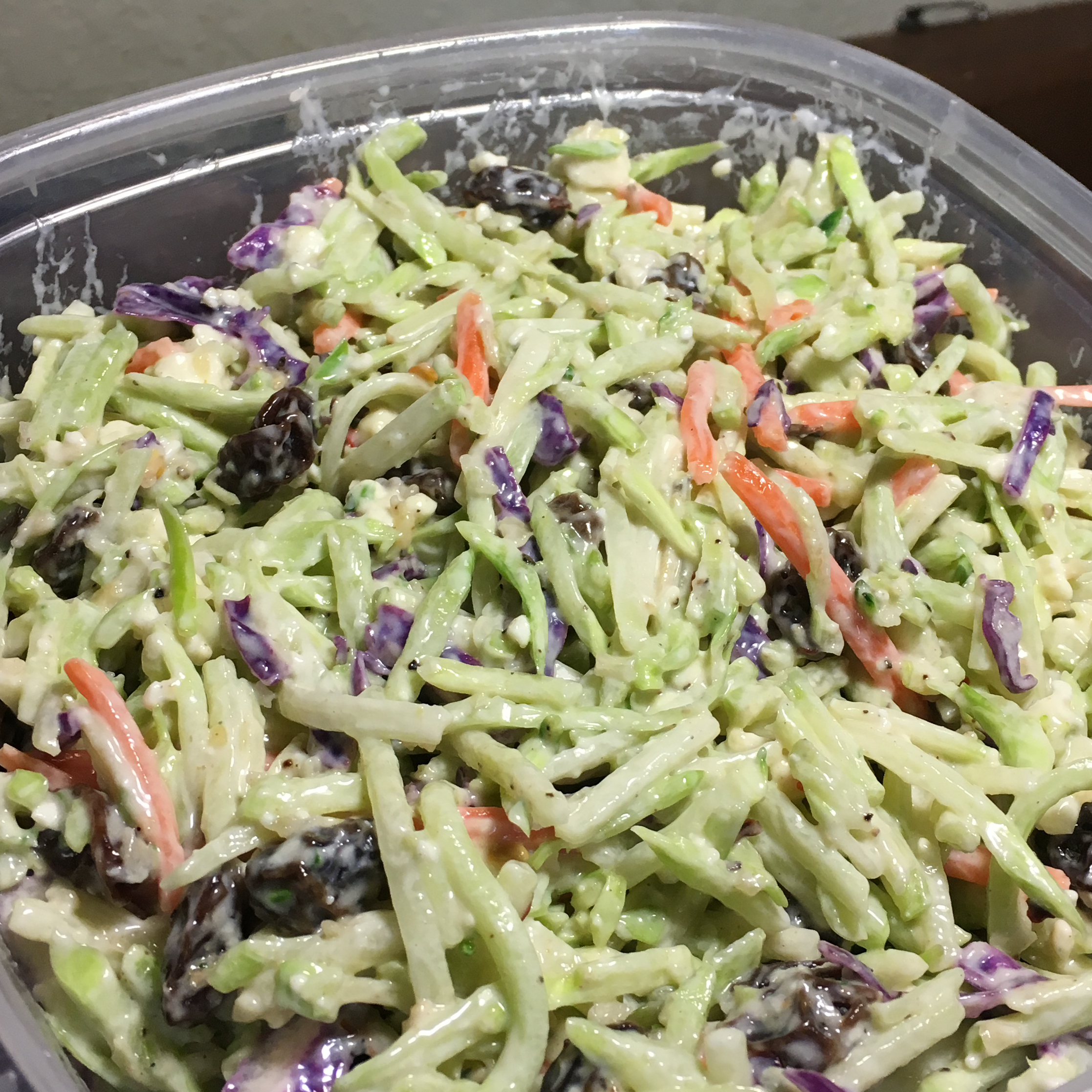 Andrea's Broccoli Slaw ropeitjohnson