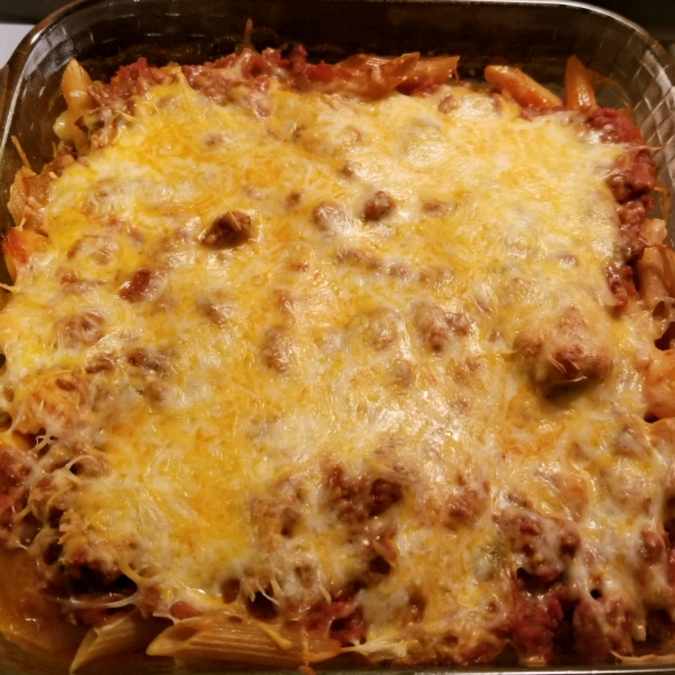 Sloppy Joe Casserole with Noodles tiger72wolf69