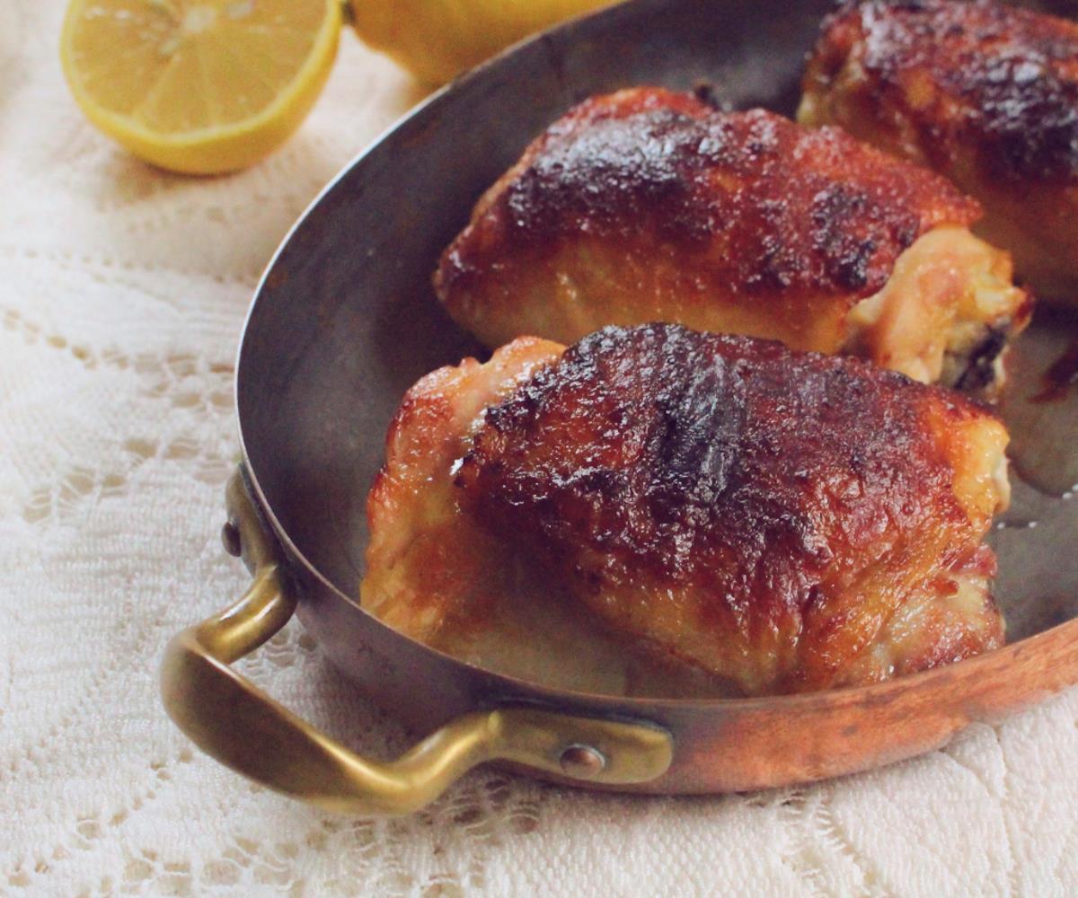 Roasted White Miso-Butter Chicken bolshevik