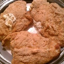 Chicken Breasts Stuffed with Crabmeat Ant W