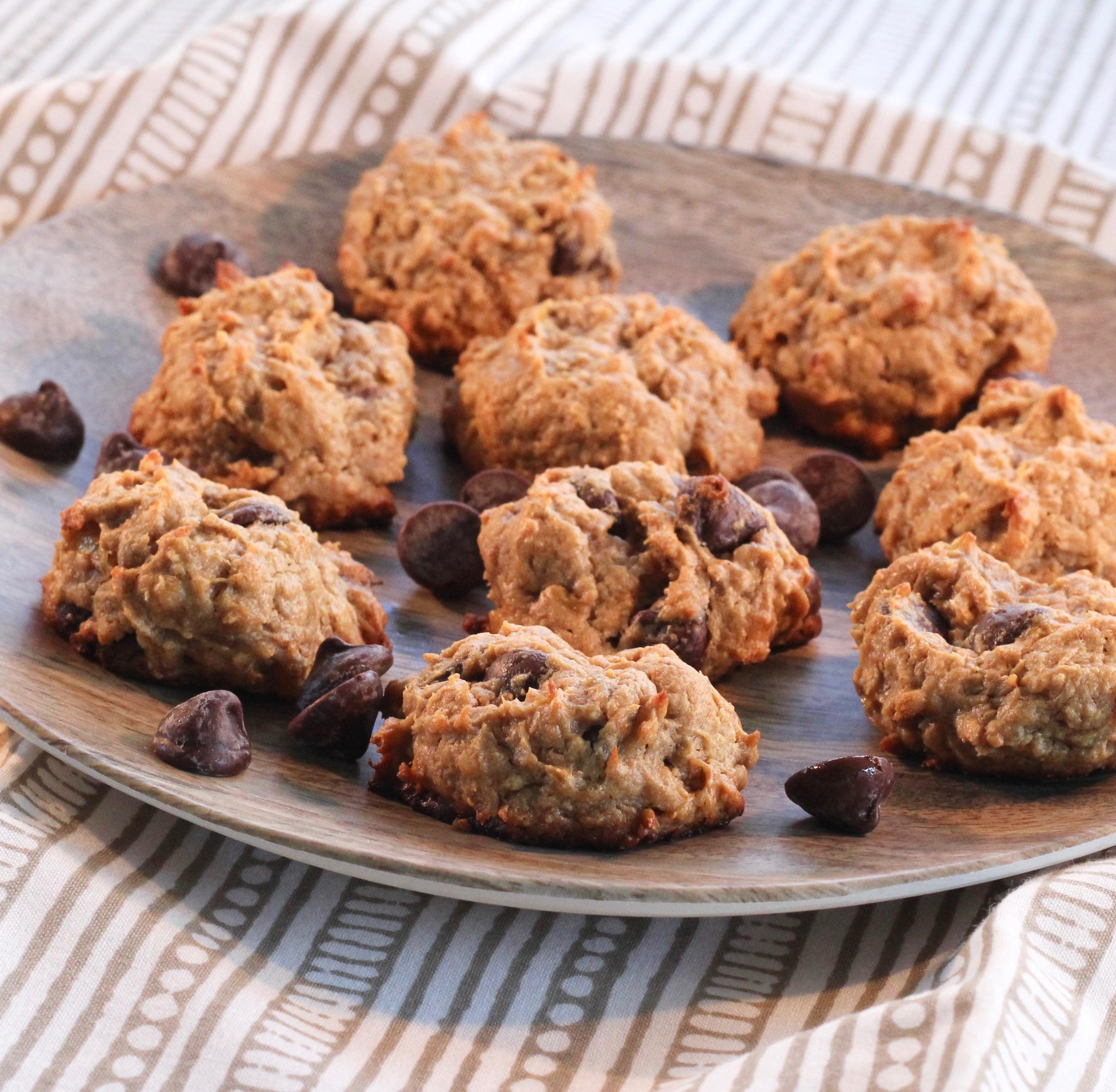 Peanut Butter-Banana Cookies