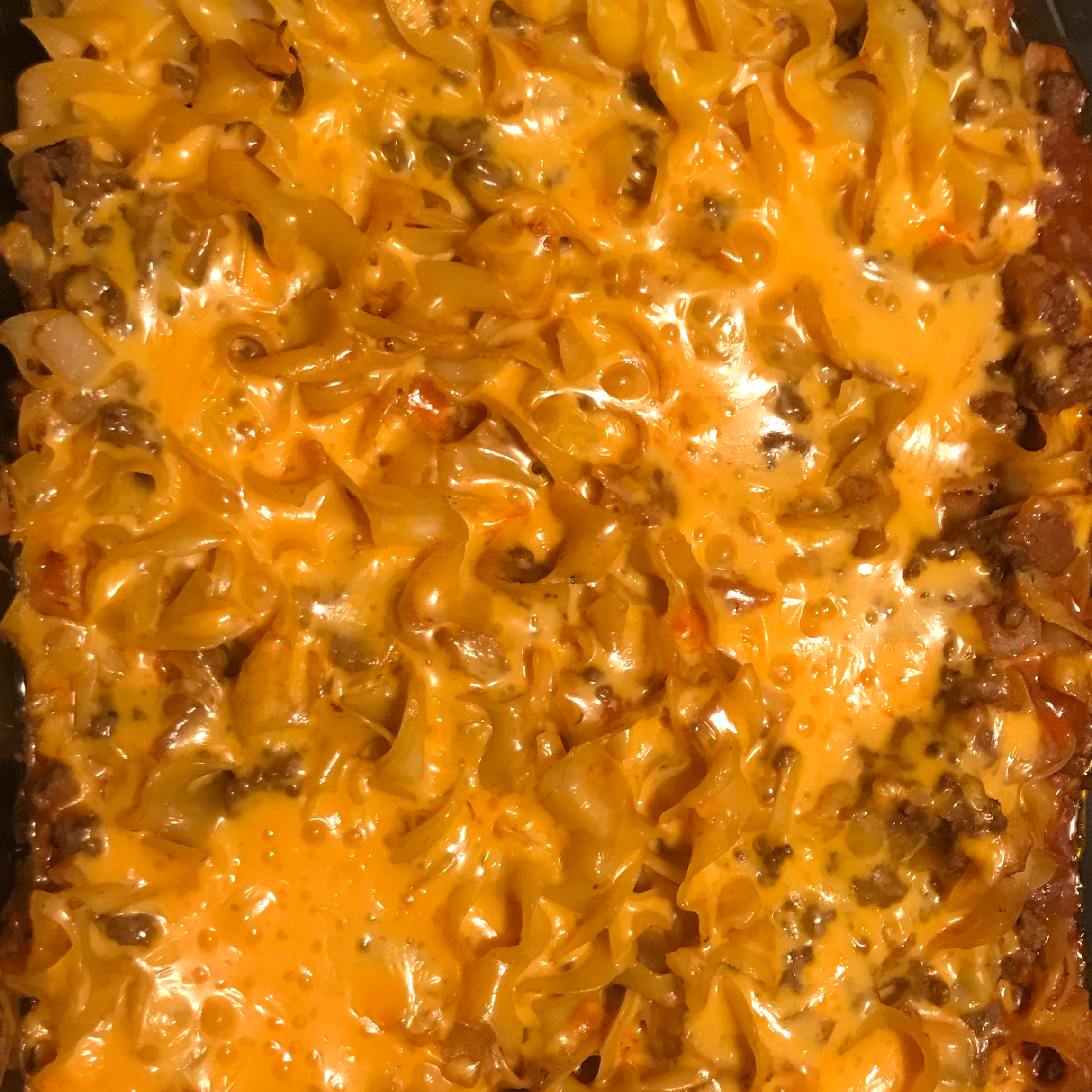 NO YOLKS® Beef Noodle Casserole DoubleDownAgain