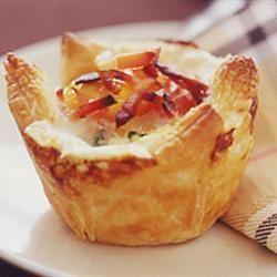 Bacon and Egg Breakfast Tarts Sunshinebarry