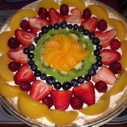 Fancy Fruit Pizza LOVE2eat