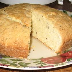 English Caraway Cake Ruth O'Morrow Neidlinger