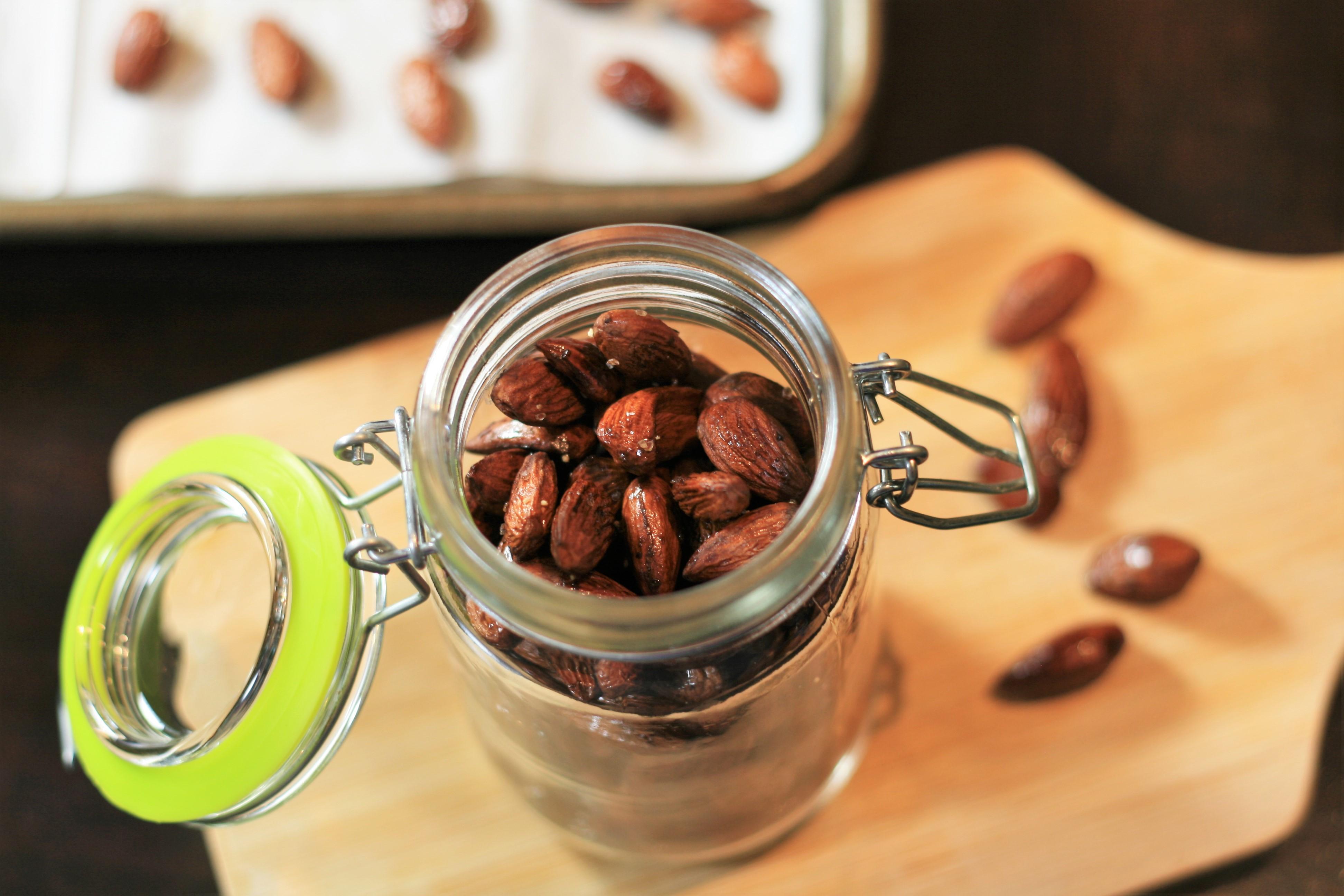 Salt and Vinegar Almonds