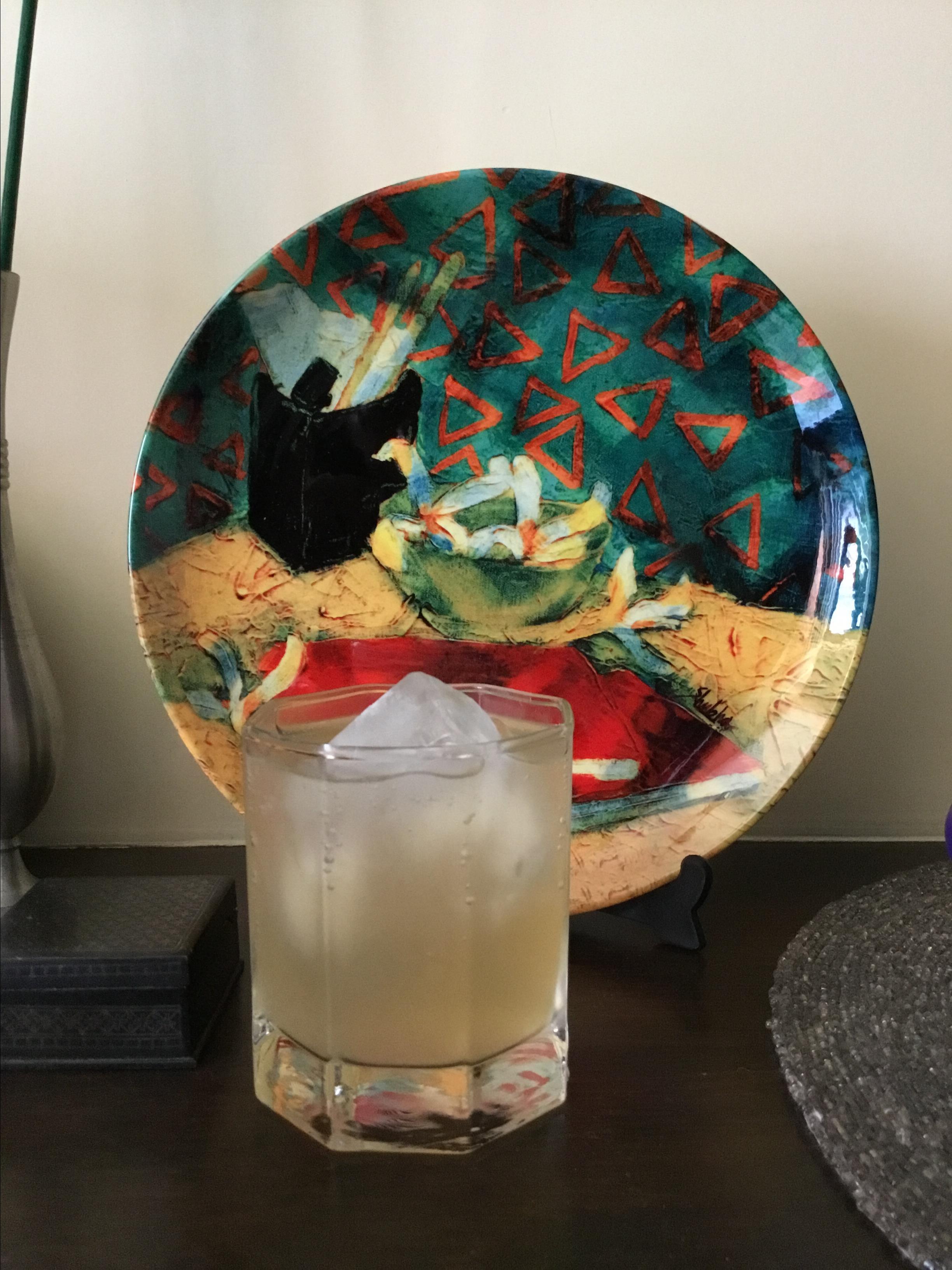 Tart Apple-Ginger Shrub Namrata