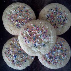 Coconut Lemon Drop Cookies