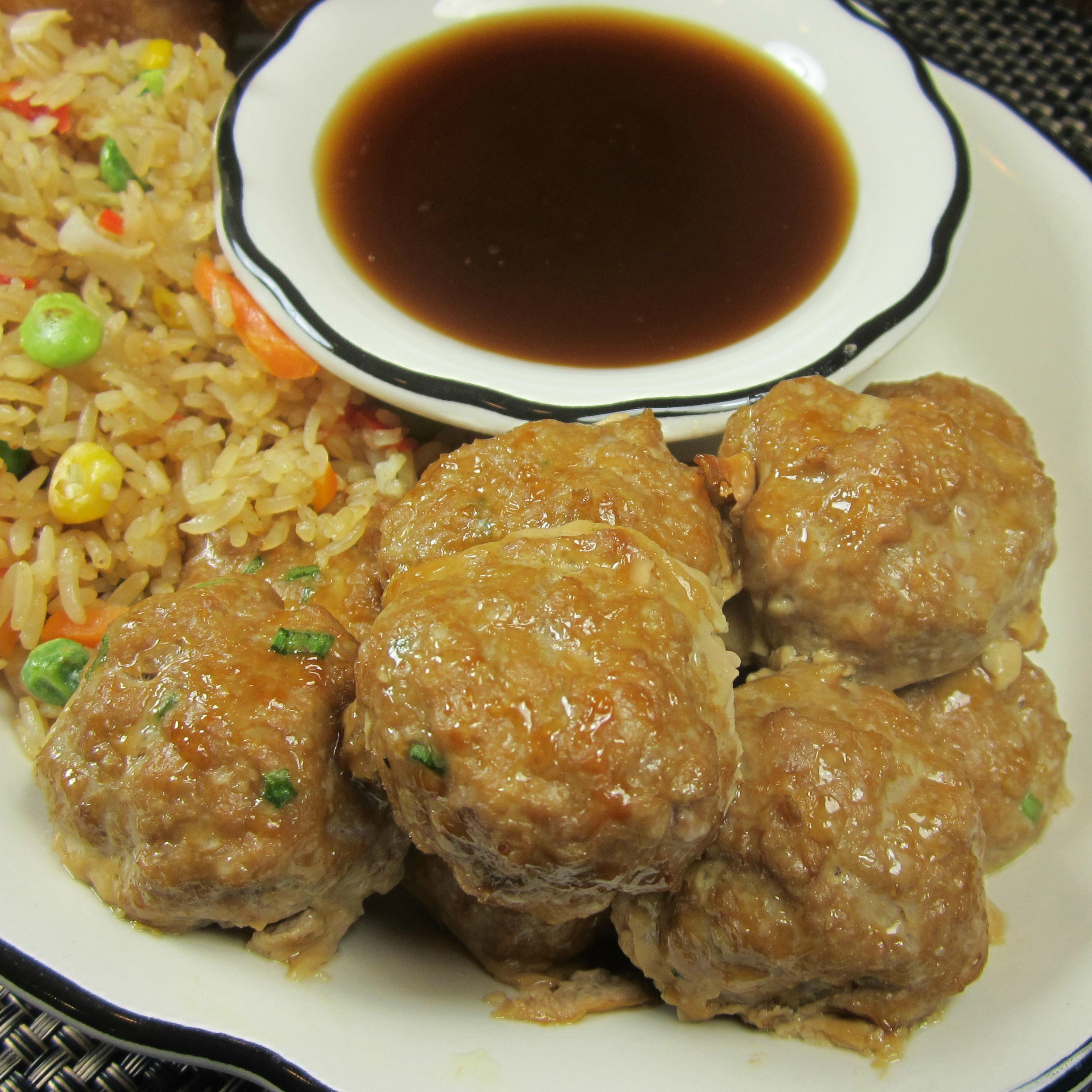 Chinese Style Low Carb Meatballs Deb C