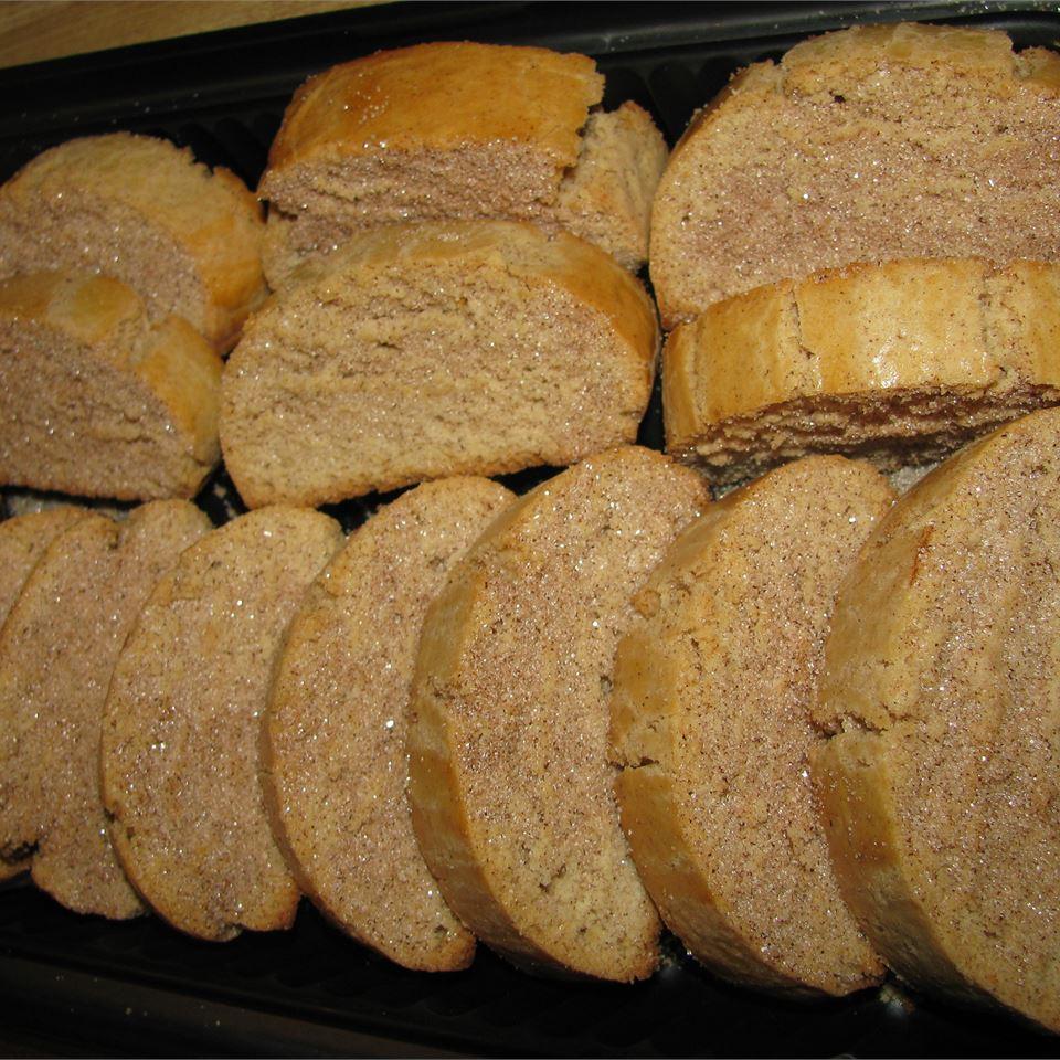 Cinnamon Sugar Biscotti m.e.a.