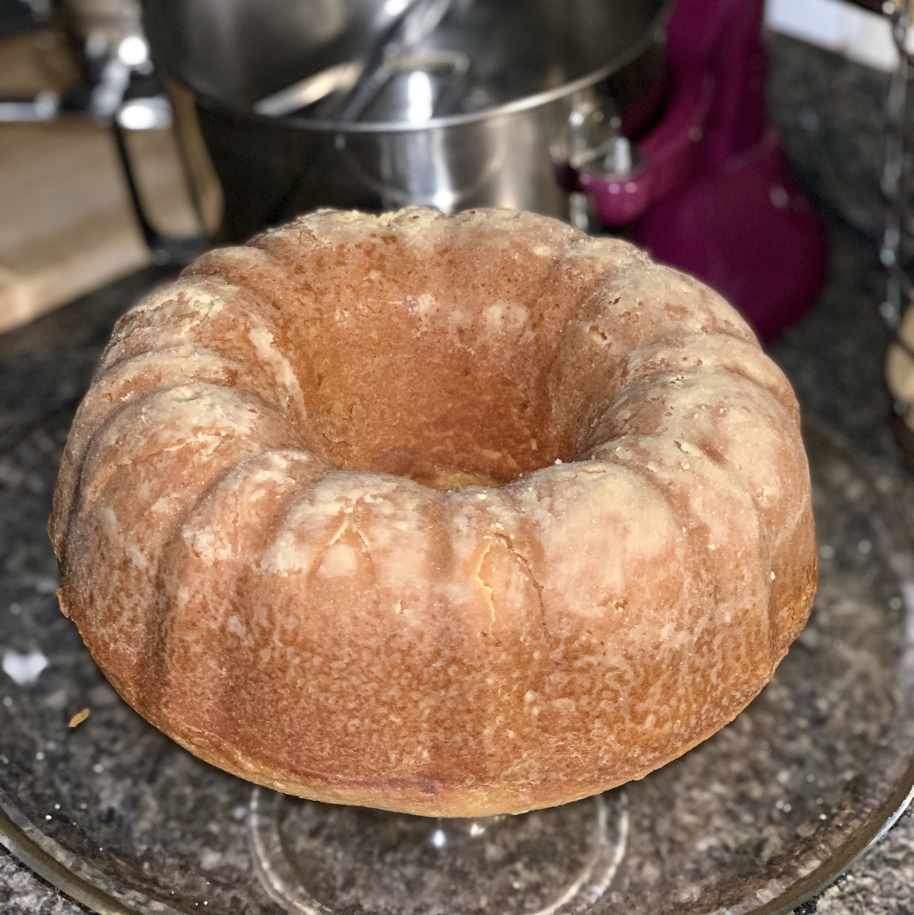 Brown Sugar Pound Cake I Tracy Lewis Hoover