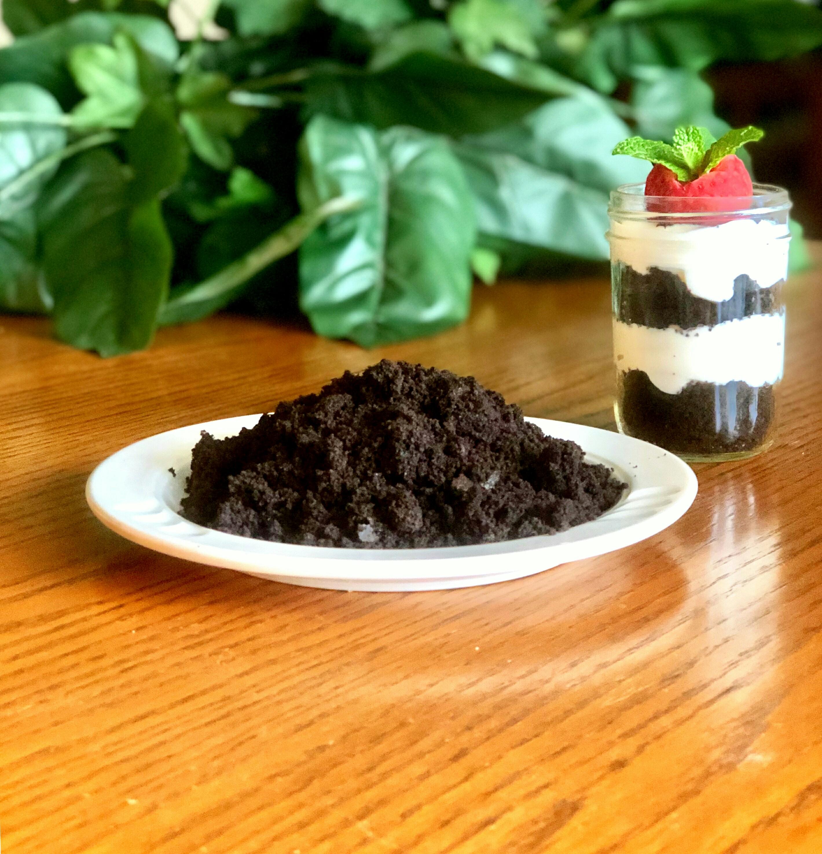 Homemade Chocolate Cookie Crumbs