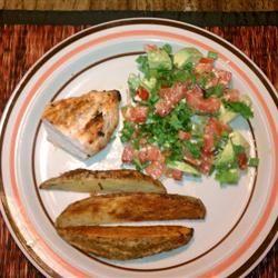 Cilantro, Avocado, Tomato, and Feta Salad kmdeutsch