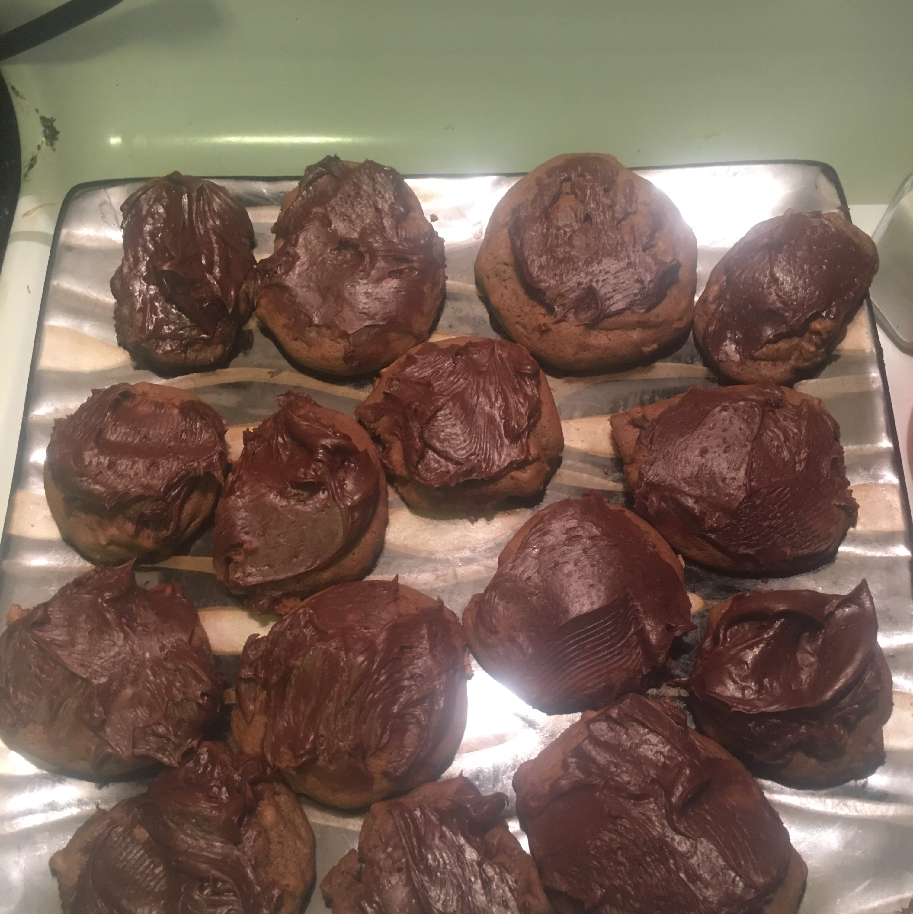 Frosted Chocolate Cookies Greg Pierce